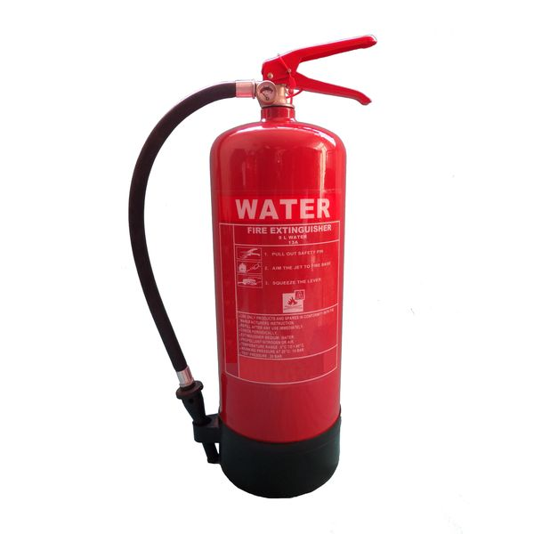 Auga e escuma de extintor de auga 9L Featured Image
