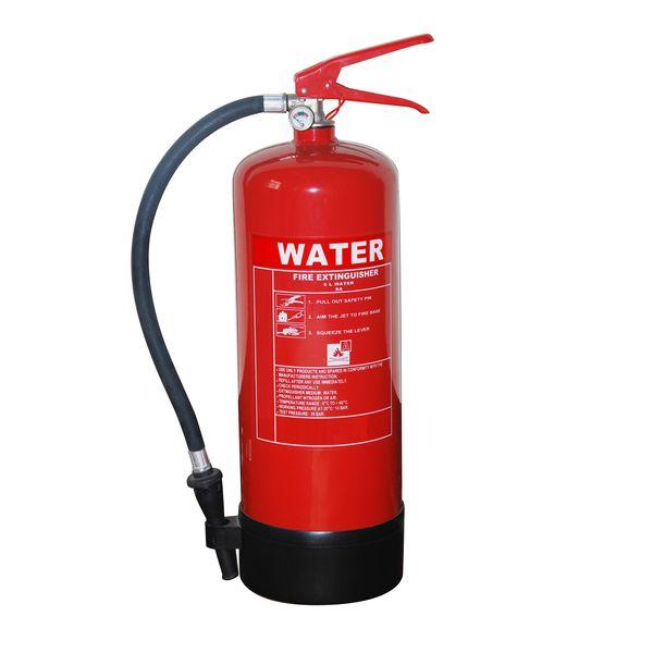 Auga e escuma de extintor de auga 6L Featured Image