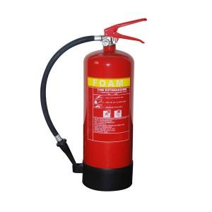 น้ำและโฟมดับเพลิงโฟม 6L