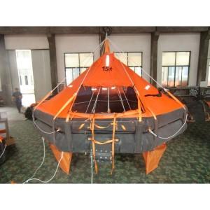 Life Raft Davit-lancéiert Life Raft